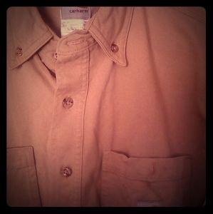 FR Men's Carhartt Long Sleeve Button Up
